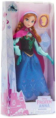 Кукла Анна с подвеской - «Холодное сердце 2» - Дисней (Anna Classic Doll with Pendant – Frozen) (фото, вид 1)