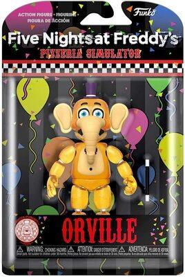 Слон Орвилл - Симулятор Пиццы (светится в темноте) (Funko Action Figures: Five Nights at Freddy's Pizza Simulator - Orville Elephant) (фото, вид 1)
