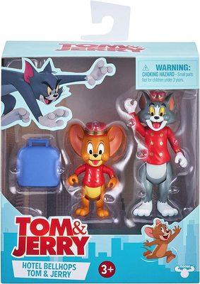Фигурки Тома и Джерри в наборе «Отель Bellhops» - «Том и Джерри» - Дисней (Tom & Jerry Figure 2-Packs: Hotel Bellhops) (фото, вид 1)