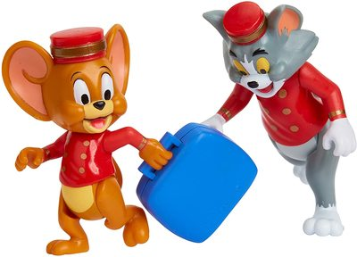 Фигурки Тома и Джерри в наборе «Отель Bellhops» - «Том и Джерри» - Дисней (Tom & Jerry Figure 2-Packs: Hotel Bellhops) (фото, вид 2)