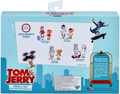 Набор из 4-х фигурок: Том, Джерри, Тутс, Бутч - «Том и Джерри» - Дисней (Tom & Jerry Figure - Four Pack) (фото, вид 1)
