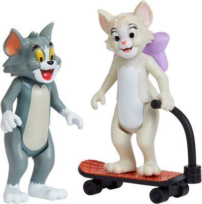 Фигурки Тутс и Тома на самокате - «Том и Джерри» - Дисней (Tom & Jerry Figure 2-Packs: Skateboarding Tom & Toots) (фото, вид 4)