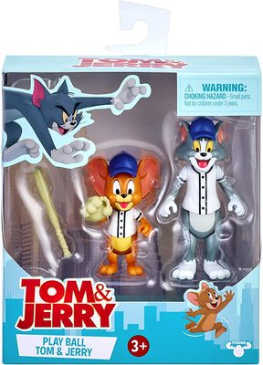 Фигурки Том и Джерри в наборе «Бейсбол» - «Том и Джерри» - Дисней (Tom & Jerry Figure 2-Packs: Play Ball) (фото, вид 1)
