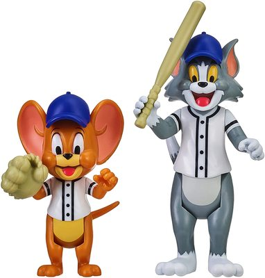 Фигурки Том и Джерри в наборе «Бейсбол» - «Том и Джерри» - Дисней (Tom & Jerry Figure 2-Packs: Play Ball) (фото, вид 2)