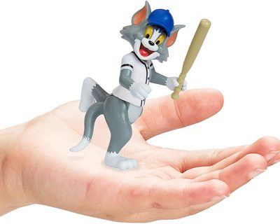 Фигурки Том и Джерри в наборе «Бейсбол» - «Том и Джерри» - Дисней (Tom & Jerry Figure 2-Packs: Play Ball) (фото, вид 3)