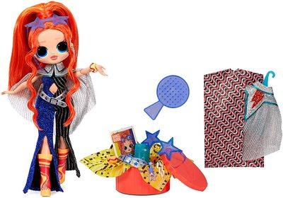 Кукла ЛОЛ О.М.G. Dance Dance Dance Мэйджор (Major) светящаяся с 15 сюрпризами. (LOL OMG Dance Dance Dance Major Lady Fashion Doll) (фото, вид 1)