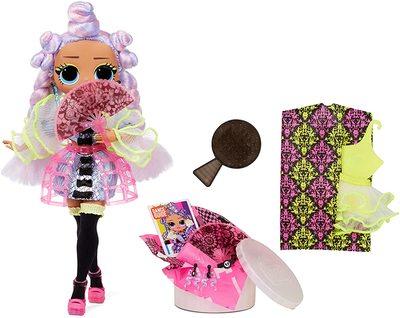Кукла ЛОЛ О.М.G. Dance Dance Dance Ройала (Royale) светящаяся с 15 сюрпризами. (LOL OMG Dance Dance Dance Miss Royale Fashion Doll) (фото, вид 1)
