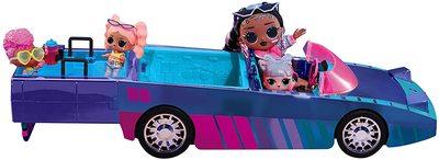 Набор кукла ЛОЛ Дэнсбот в кабриолете для танцев. (LOL Surprise Dance Machine Car with Exclusive Doll, Surprise Pool, Dance Floor and Magic Black Light) (фото, вид 1)