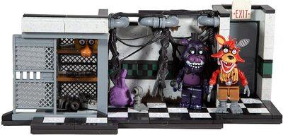 Запчасти и сервисное обслуживание - конструктор пять ночей с Фредди 209 дет. (McFarlane Toys Five Nights at Freddys Parts & Service Medium Construction Set) (фото, вид 1)