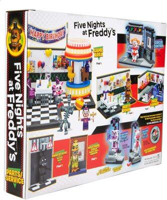 Запчасти и сервисное обслуживание - конструктор пять ночей с Фредди 209 дет. (McFarlane Toys Five Nights at Freddys Parts & Service Medium Construction Set) (фото, вид 3)