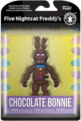 Шоколадный Бонни (Funko Action Figure: Five Nights at Freddy's - Chocolate Bonnie) (фото, вид 1)