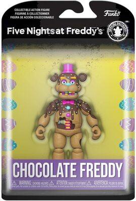 Шоколадный Фредди (Funko Action Figure: Five Nights at Freddy's- Chocolate Freddy) (фото, вид 1)
