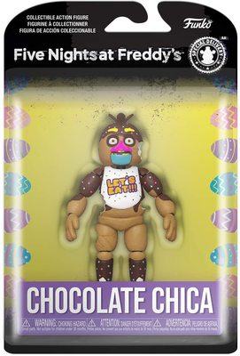 Шоколадная Чика (Funko Action Figure: Five Nights at Freddy's- Chocolate Chica) (фото, вид 1)
