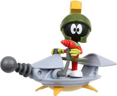 Марвин Марсианин с космическим кораблем из серии «Космический джэм - Новое Наследие». (SPACE JAM: A New Legacy - Baller Action Figure - Marvin The Martian with Spaceship) (фото, вид 2)