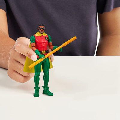 Леброн Джеймс (Робин) из серии «Космический джэм - Новое Наследие». (SPACE JAM: A New Legacy - Baller Action Figure - Lebron James (Robin)) (фото, вид 2)