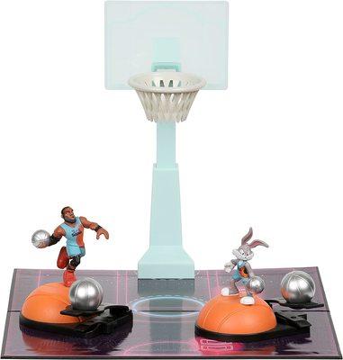 Набор для игры в Данк с фигурой Леброна Джеймс из серии «Космический джэм - Новое Наследие». (SPACE JAM: A New Legacy - Super Shoot & Dunk Playset with Lebron Figure) (фото, вид 2)