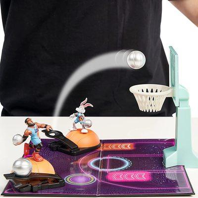 Набор для игры в Данк с фигурой Леброна Джеймс из серии «Космический джэм - Новое Наследие». (SPACE JAM: A New Legacy - Super Shoot & Dunk Playset with Lebron Figure) (фото, вид 5)