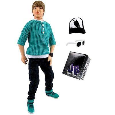 Джастин Бибер (Justin Bieber JB Style Collection Real Hairstyle Doll - Green Hoodie and Jeans) (фото)