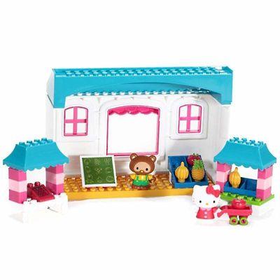 Хелло Китти - Фруктовый рынок - Мега блок (Hello Kitty - Fruit Market - Mega Bloks) (фото)