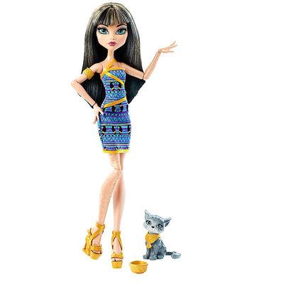 Клео де Нил с питомцем (Cleo De Nile Doll with Kitten) (фото)