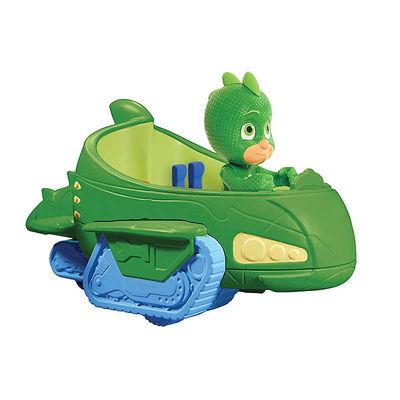 Гекко и автомобиль (PJ Masks Gekko Mobile Vehicle) (фото)