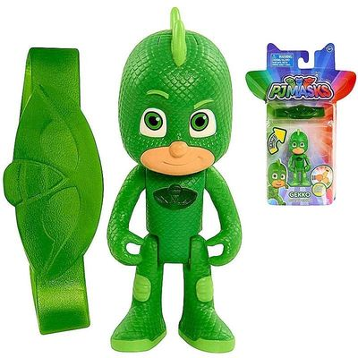 Гекко и браслет (PJ Masks 3 inch Light Up Figure - Gekko) (фото)