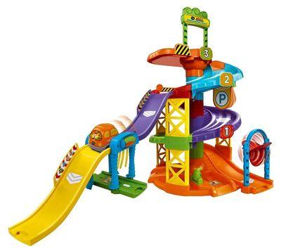 Конструктор - Вращающаяся Спираль (VTech Go! Go! Smart Wheels Spinning Spiral Tower Playset) (фото)