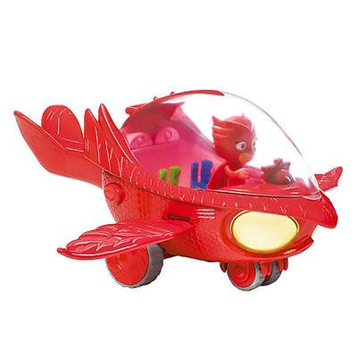 Алет и автомобиль - Deluxe (PJ Masks Deluxe Owlette's Owl-Glider Vehicle) (фото)