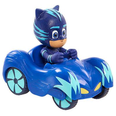 Кэт Бой и автомобиль - Mini (PJ Masks Mini Wheelie Vehicle Cat-Car - Catboy) (фото)