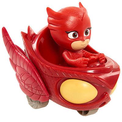 Алет и автомобиль - Mini (PJ Masks Wheelie Vehicle Owl Glider - Owlette) (фото)