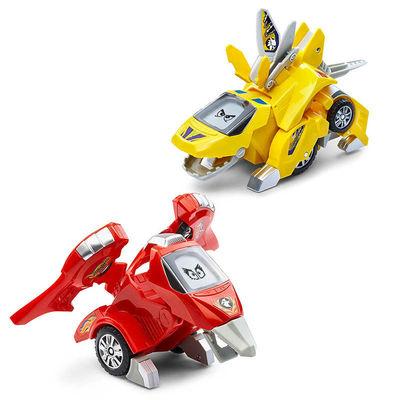 Дино-Трансформер - Т-Дон и Тонн (VTech Switch & Go Dinos - Animated Dinos 2-pack with T-Don and Tonn) (фото)