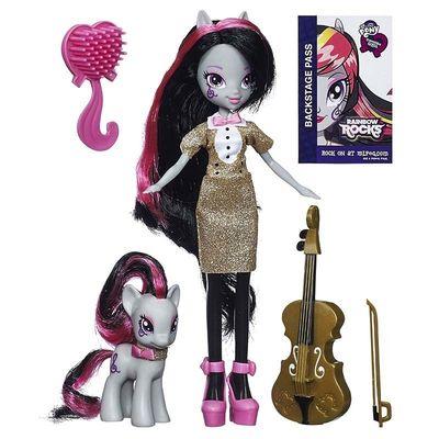 Девочка Октавия Мелоди и пони (My Little Pony Equestria Girls Octavia Melody Doll and Pony Set) (фото)