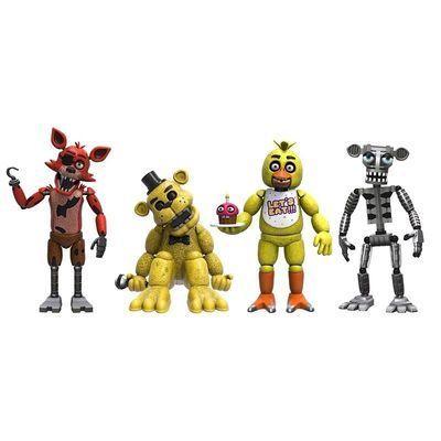 Набор Пять ночей у Фредди - 1 часть (Funko Five Nights at Freddy's 4 Figure Pack 1-Set) (фото)