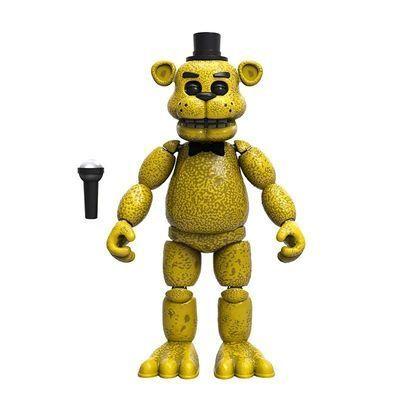 Фредди золотой (голден) (Funko Five Nights at Freddy's Articulated Golden Freddy) (фото)