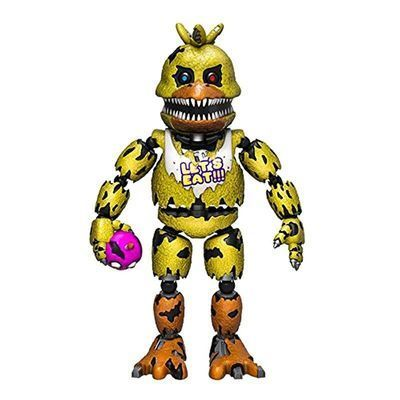 Чика кошмарная (Funko Articulated Five Nights at Freddy's - Nightmare Chica) (фото)