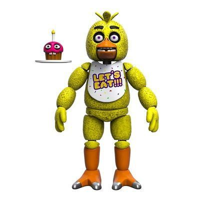 Чика (Funko Five Nights at Freddy's Articulated Chica) (фото)