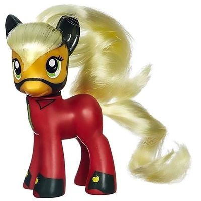 Пони Эпплджек - могучие пони (My Little Pony Friendship is Magic Power Ponies Applejack) (фото)