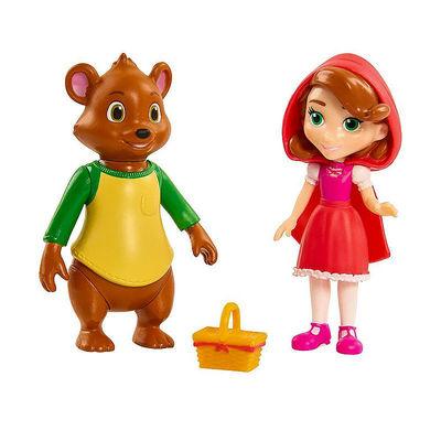 Мишка и Красная Шапочка - Голди и Мишка (Disney Junior Goldie & Bear Character Duet Set - Bear and Little Red) (фото)