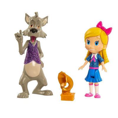 Голди и большой плохой Волк - Голди и Мишка (Disney Junior Goldie & Bear Character Duet Set - Goldie and Big Bad Wolf) (фото)