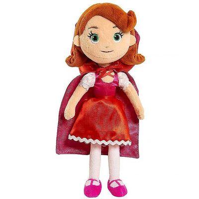 Красная Шапочка плюш - Голди и Мишка (Disney Junior Goldie and Bear Mini Plush - Little Red Riding Hood) (фото)