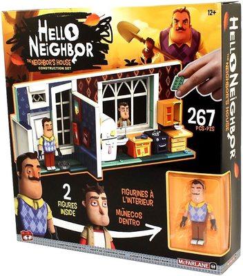 Конструктор Привет Сосед - дом соседа (McFarlane Toys Hello Neighbor The Neighbor's House Large Construction Set) (фото)