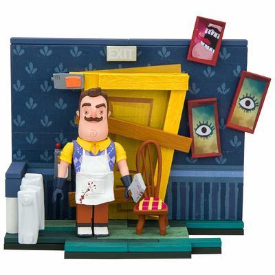 Конструктор Привет Сосед - Забитая дверь в подвал (McFarlane Toys Hello Neighbor The Basement Door Small Construction Set (89 Piece))