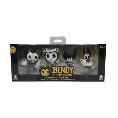 Бенди и чернильная машина: Коллекционный набор фигурок (4 фигуры) (Bendy and the Ink Machine : Collectible Figure Pack (4 Figures)) (фото)