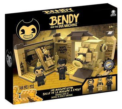 Конструктор Бенди и чернильная машина: Сценическая комната (265 деталей) (Bendy and the Ink Machine - Room Scene (265 pieces)) (фото)