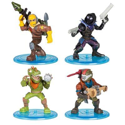 Коллекция Королевской битвы Фортнайт: набор из 4 фигурок (Fortnite Battle Royale Collection: 4 Action Figure Squad Pack) (фото)
