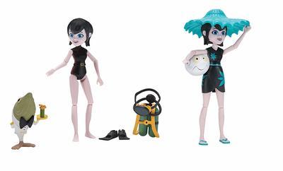 Отель Трансильвания - Подводное плавание с привидениями и Монстр круиз Мейвис (Hotel Transylvania Figure 2-Pack, Spooky Scuba & Monster Cruise Mavis) (фото)