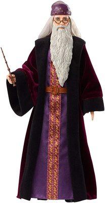 Кукла Альбус Дамблдор - Гарри Поттер (Mattel Harry Potter Albus Dumbledore Doll) (фото)