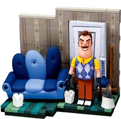 Конструктор Привет Сосед - Гостиная (McFarlane Toys Hello Neighbor The Living Room Small Construction)