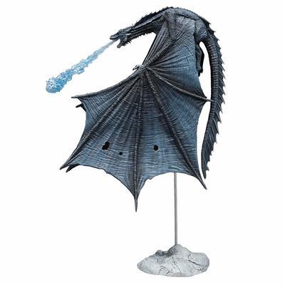 Игра престолов Визерион (Ледяной Дракон) Роскошная фигура (McFarlane Toys 10655-8 Game of Thrones Viserion Ice Dragon Deluxe Box) (фото)