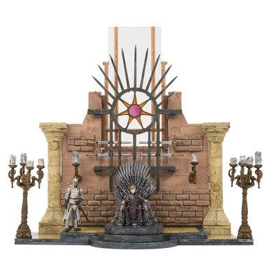 Игра престолов Железный тронный зал (набор - 314 деталей) (McFarlane Toys Game of Thrones Iron Throne Room Construction Set) (фото)
